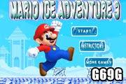لعبة ماريو مغامرة الجليد