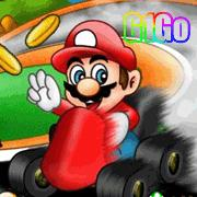 لعبة سباق سيارات ماريو