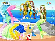 لعبة تلبيس عروسة البحر