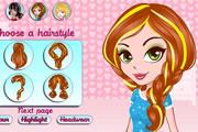 لعبة تصفيف شعر البنات