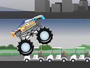 لعبة الشاحنة المدمرة