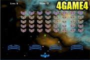 لعبة صيد الفراخ في الفضاء