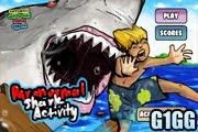 لعبة سمك القرش الجوعان