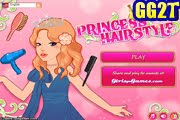 لعبة تصفيف الشعر