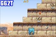 لعبة الاهرامات المصرية