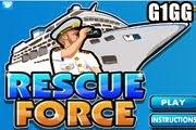 لعبة الانقاذ بالقارب