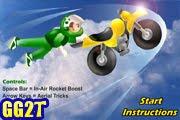 لعبة الدراجة الصاروخية