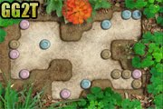لعبة حديقة الصخور الملونة
