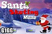 لعبة متاهة مدينة الثلج