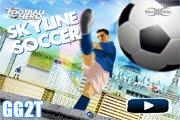 لعبة مهارات كرة القدم