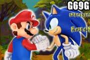 لعبة سونيك ينقذ ماريو