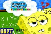 لعبة سبونج بوب فى الامتحان