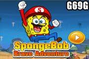 لعبة مغامرة سبونج بوب الشجاع