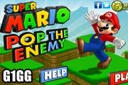 لعبة ماريو ضرب العدو