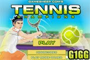 لعبة بطولة كرة التنس