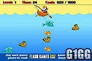 لعبة صياد السمك بالسنارة