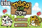 لعبة النمر يأكل البقر