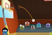 لعبة كرة سلة