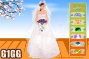 لعبة تلبيس فستان الزفاف الفرح