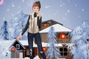 لعبة ازياء الشتاء